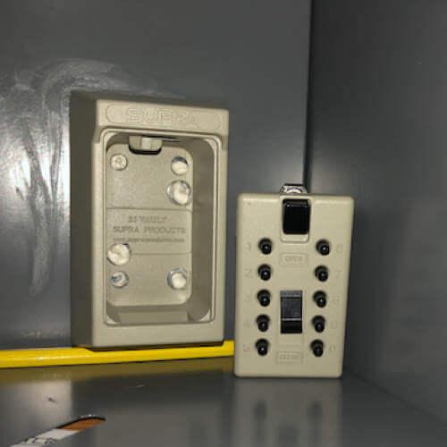 MILKBOX_S5KLEB -  Schlüsseltresor für briefkasten - Schlüsseltresor mit zahlenschloss
