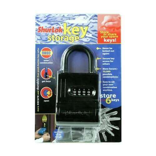 SL200 - Schlüsseltresor mit code - Schlüsseltresor außen